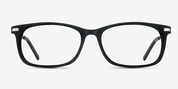 Matte Black Phase -  Acetate Eyeglasses