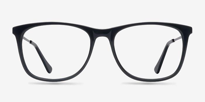 Black Contrast -  Acetate Eyeglasses