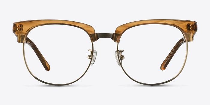 Brown Skyscraper -  Geek Acetate Eyeglasses