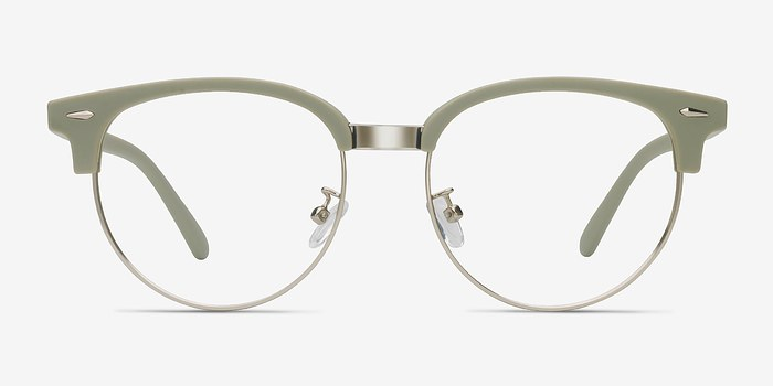 Light Green Narita -  Metal Eyeglasses