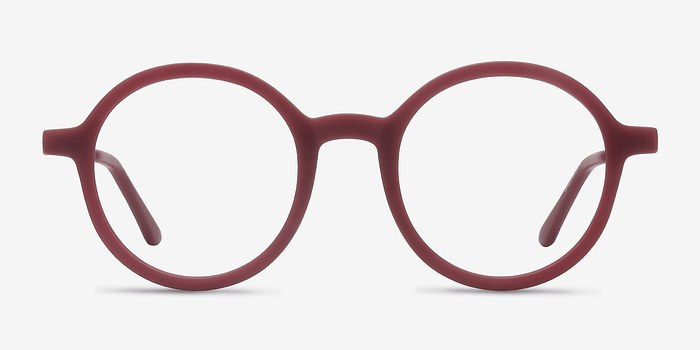 Matte Burgundy Potter -  Metal Eyeglasses