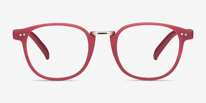 Matte Pink Miyoshi -  Colorful Metal Eyeglasses