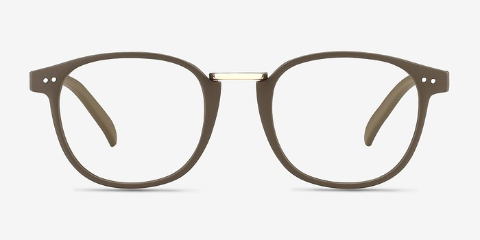 Matte Green Miyoshi -  Metal Eyeglasses