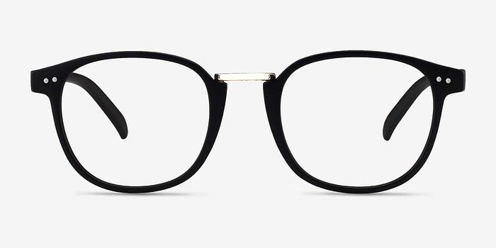 Matte Black Miyoshi -  Metal Eyeglasses