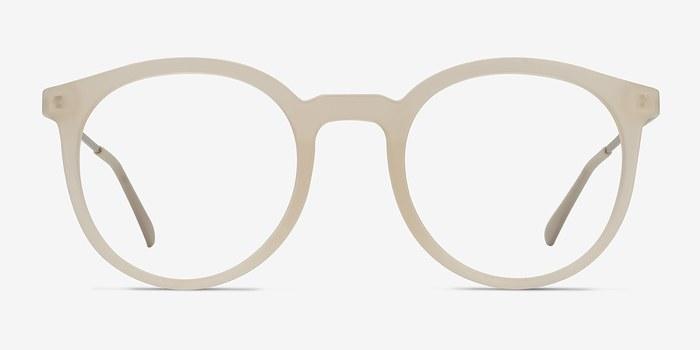 Matte Clear Grin -  Métal Lunettes de Vue