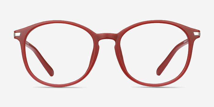 Burgundy Lindsey -  Metal Eyeglasses