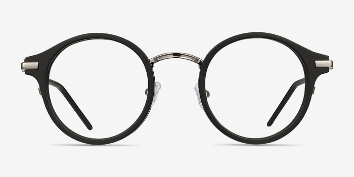 Black Roto -  Acetate Eyeglasses
