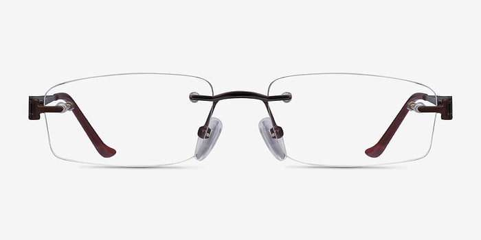 Brown Ottawa -  Lightweight Metal Eyeglasses