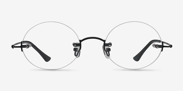Black Silver Line -  Lightweight Metal Eyeglasses