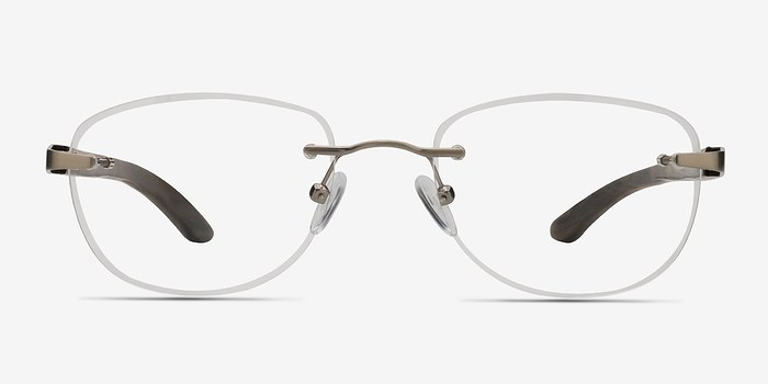 Silver Brown Potential -  Lightweight Eyeglasses