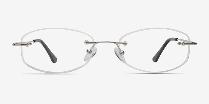 Silver Duel -  Lightweight Metal Eyeglasses