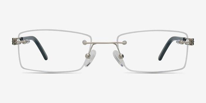 Silver Jeremiah -  Lightweight Metal Eyeglasses