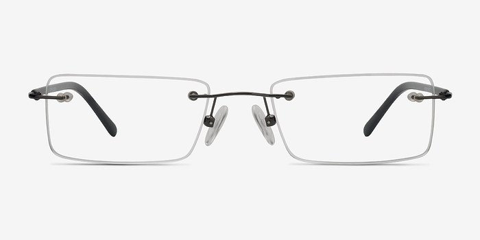 Gunmetal Glacon -  Lightweight Metal Eyeglasses
