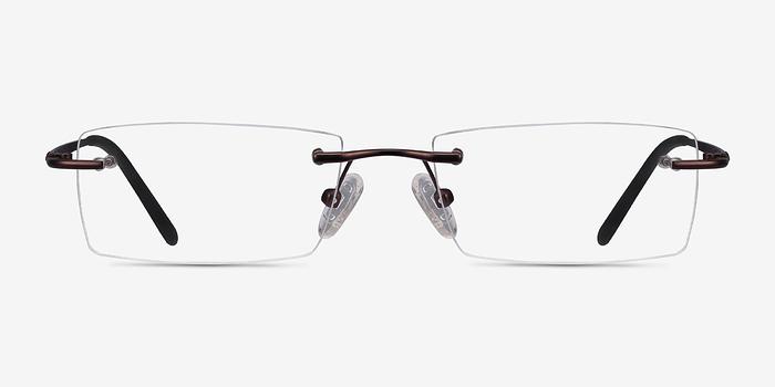 Brown Regis -  Metal Eyeglasses