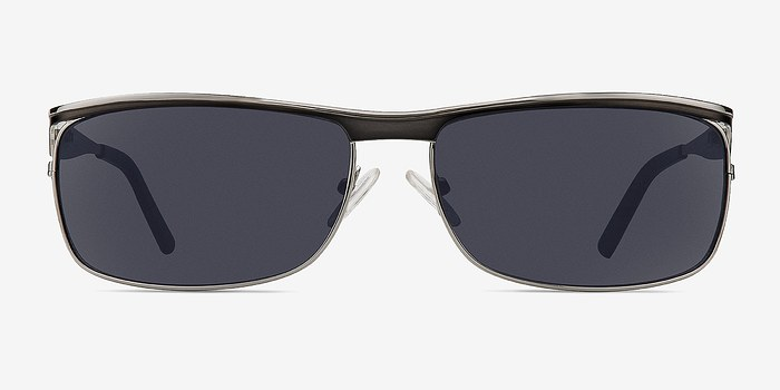 Silver/Black Brighton -  Metal Sunglasses