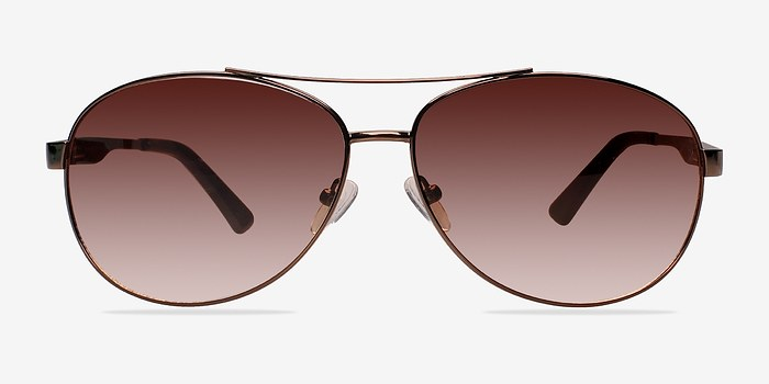 Brown Santorini -  Metal Sunglasses
