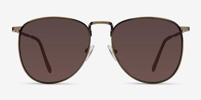 Bronze Fume -  Metal Sunglasses