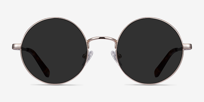 Light Golden  Guru -  Metal Sunglasses