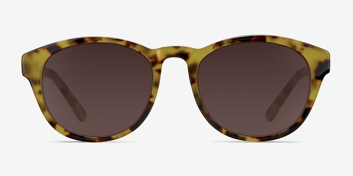 Brown/Tortoise Coppola -  Plastic Sunglasses