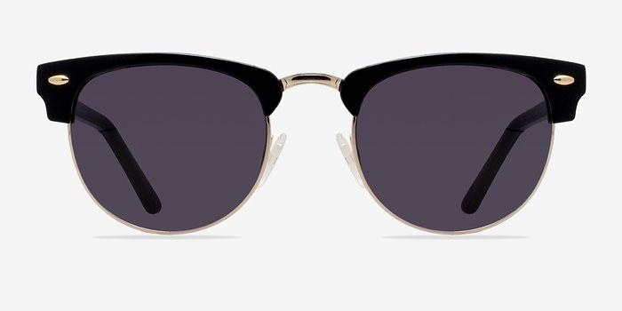 Black/Golden The Hamptons -  Vintage Acetate Sunglasses
