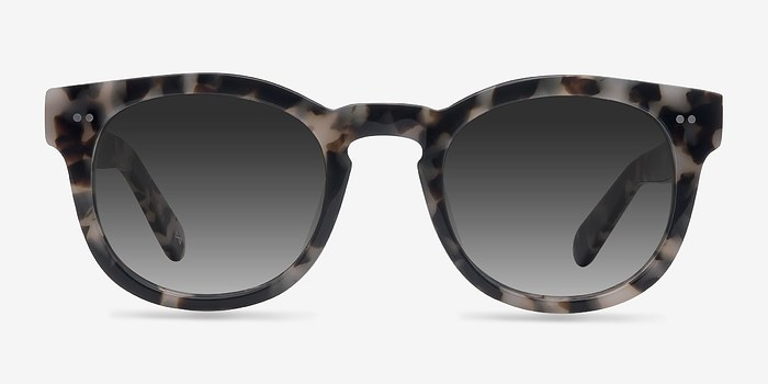 Marbled Tortoise Horizon -  Acetate Sunglasses