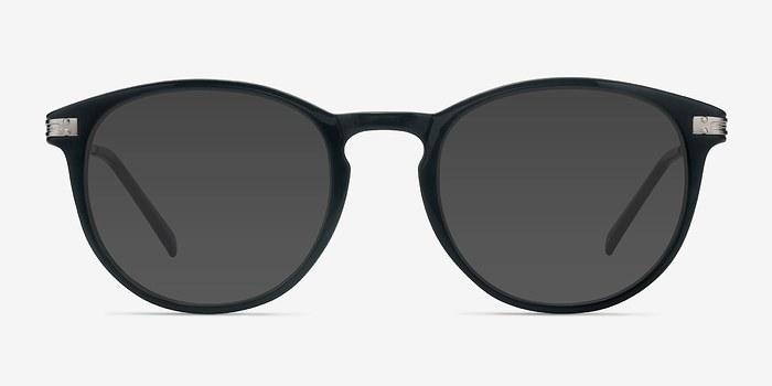Black Monroe L -  Metal Sunglasses