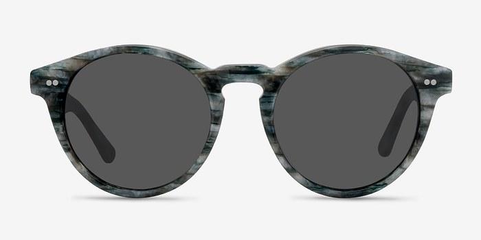 Slate Havana -  Acetate Sunglasses