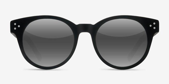 Matte Black Minuit -  Acetate Sunglasses