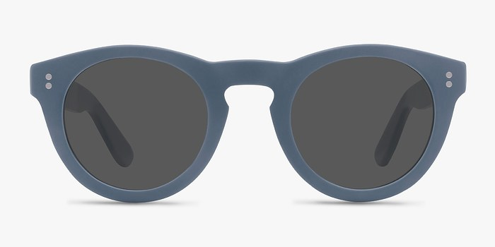 Matte Blue Ibiza -  Acetate Sunglasses
