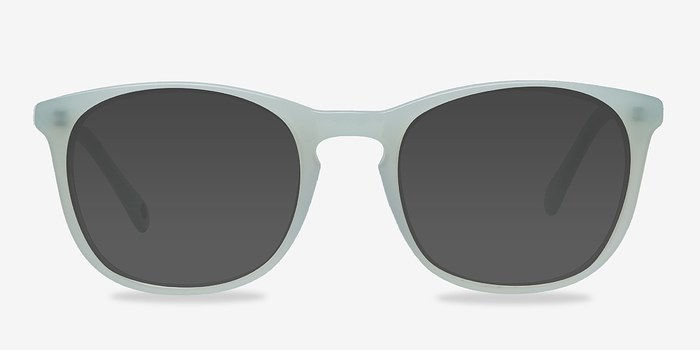Light Green Audio -  Acetate Sunglasses