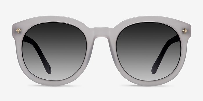 White Paige -  Acetate Sunglasses