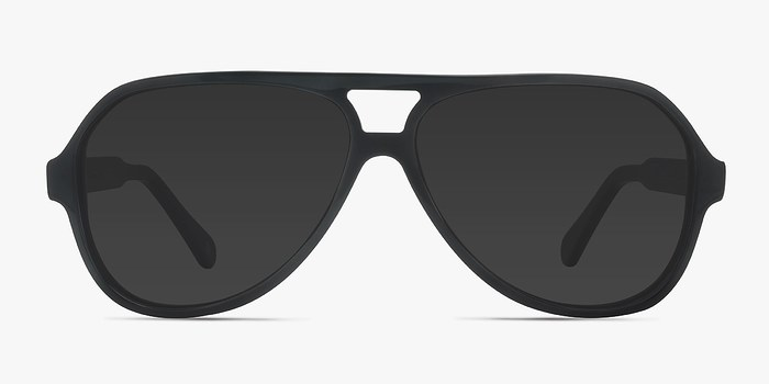 Dark Green Americana -  Acetate Sunglasses