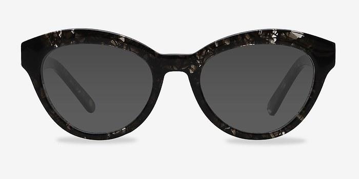 Gray Velour -  Acetate Sunglasses