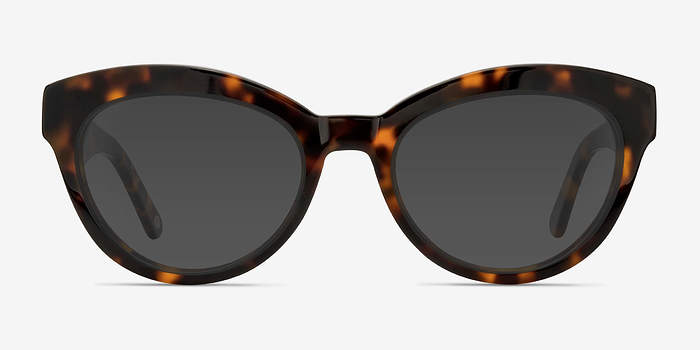 Tortoise Velour -  Acetate Sunglasses