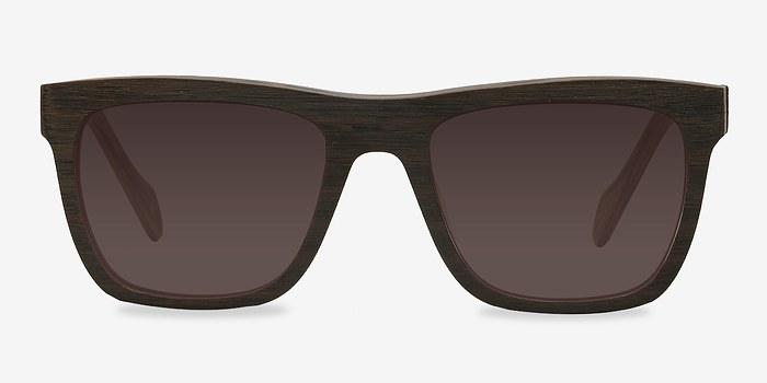 Brown Virtual -  Acetate Sunglasses