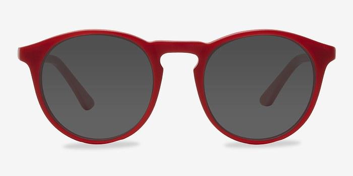 Matte Red Air -  Acetate Sunglasses