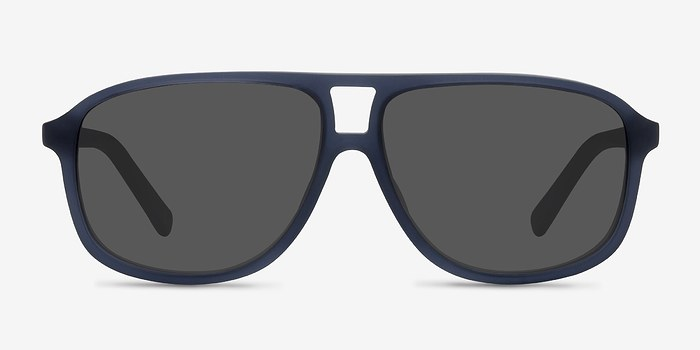 Matte Blue Bart -  Acetate Sunglasses
