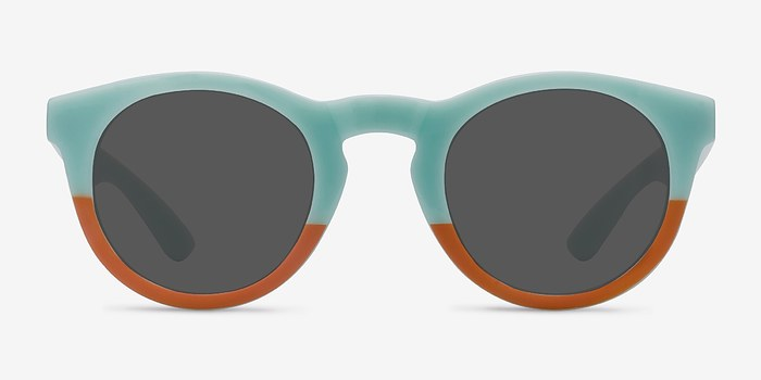 Light Blue  Sunset -  Plastic Sunglasses