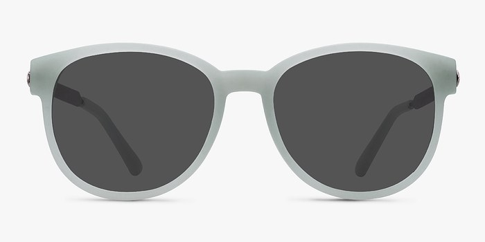Light Green Terracotta -  Metal Sunglasses