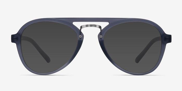 Gray Chips -  Vintage Plastic Sunglasses
