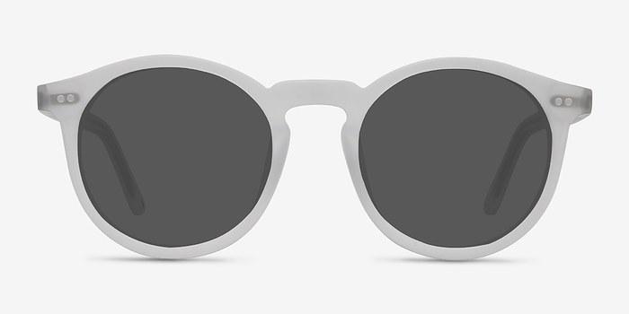 Matte Frost Luminance -  Acetate Sunglasses