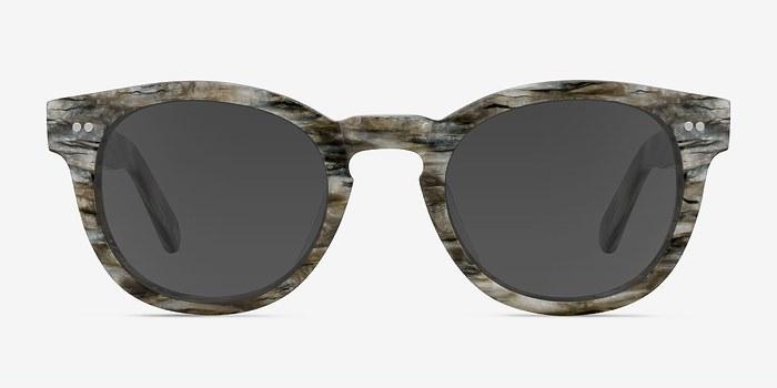 Stone Horizon -  Vintage Acetate Sunglasses