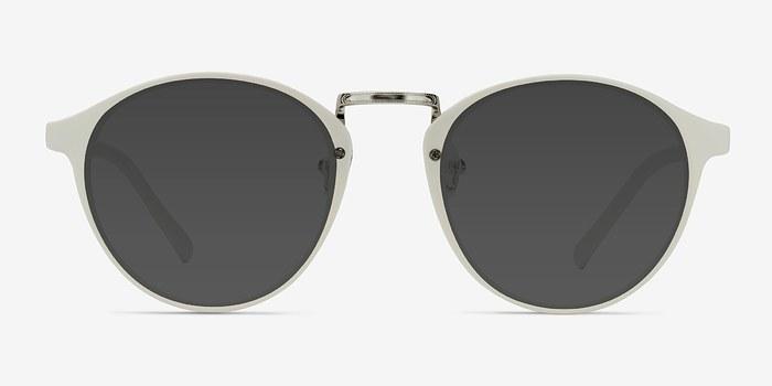 White Millenium -  Plastic Sunglasses