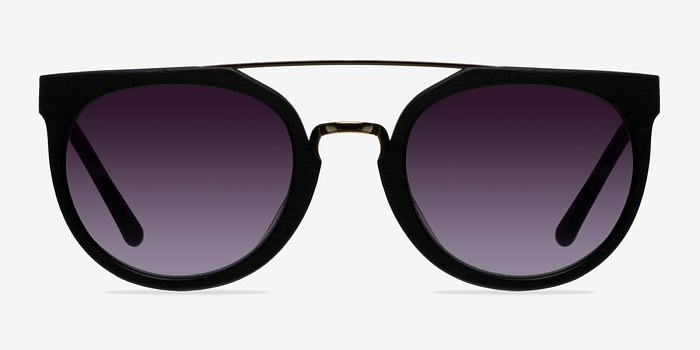 Black/Golden Bali -  Acetate Sunglasses