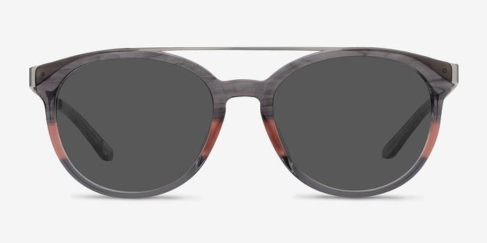 Gray Pink Morning Breeze -  Acetate Sunglasses