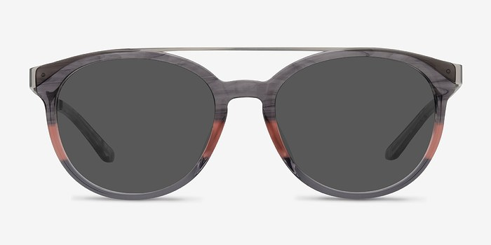 Gray Pink Morning Breeze -  Acetate Sunglasses