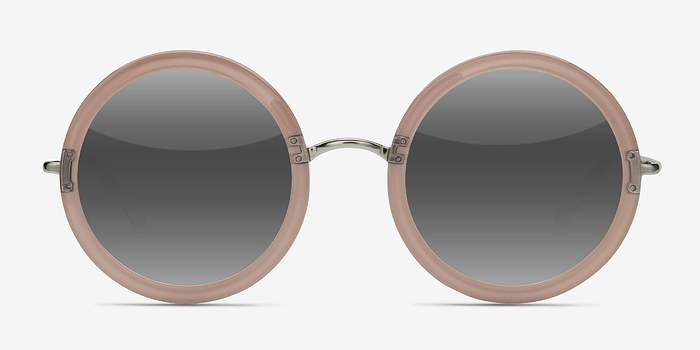 Clear Beige Joplin -  Acetate Sunglasses