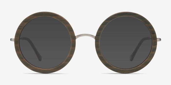 Brown Striped Joplin -  Sunglasses