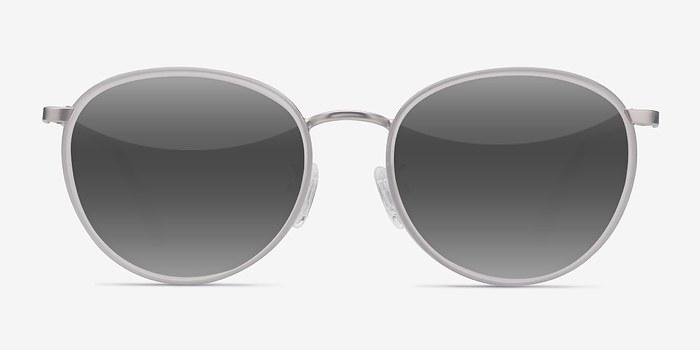 White Reves -  Acetate Sunglasses