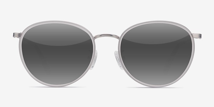 White Reves -  Acetate Sunglasses